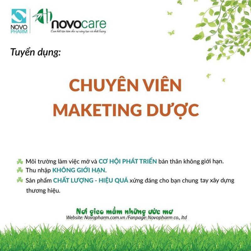 Tuyển dụng Chuyên viên Marketing Dược